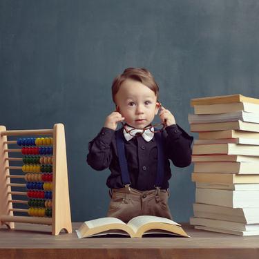 Illustrasjonsfoto barn, skole og undervisning