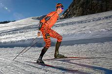 Lars Berger ventes til start i Skarverennet 2015. Her er han på samling med Team LeasePlan Go i forkant av sesongen 2014-2015. Foto: Geir Olsen/Team LeasePlan Go.