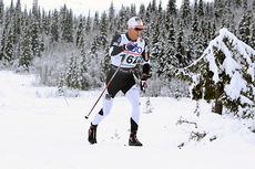 Didrik Tønseth ute på 15 km klassisk i Beitosprinten 2014. Det endte med 2.-plass for trønderen. Foto: Erik Borg.