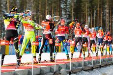 Illustrasjonsbilde fra verdenscupen i Kontiolahti 2014. Foto: Laiho/NordicFocus.