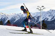 Fredrik Lindström i aksjon under OL i Sotsji 2014. Foto: NordicFocus.