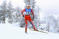 Anders Gløersen gikk seg inn til 4.-plass på 15 km fri under Beitosprinten 2014. Foto: Erik Borg.