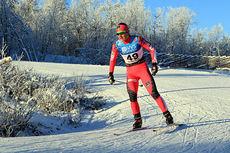 Ingvild Flugstad Østberg på vei til femteplass i 10 km fri under Beitosprinten 2014. Foto: Erik Borg.