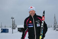 Hallstein Bøgseth på Gålå i forbindelse med skisamling der i slutten av november 2014. Foto: Gålå AS.