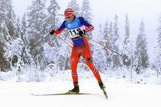 Emil Iversen ute på 15 km fri under Beitosprinten 2014. Foto: Erik Borg.