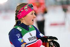 Ingvild Flugstad Østberg på sprinten under verdenscupen i Kuusamo 2014. Foto: Laiho/NordicFocus.