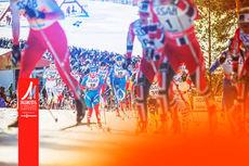 De norske fargene ventes å gjøre seg gjeldene også under VM Falun 2015. Foto: Falun2015.