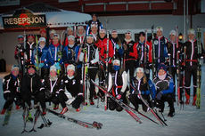 Team Vestmarka på samling på Beitostølen i overgangen november til desember 2014. Foto: Team Vestmarka.
