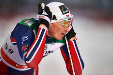 Ola Vigen Hattestad i forbindelse med verdenscupen i Kuusamo 2014. Foto: Felgenhauer/NordicFocus.