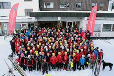 Holmen Langrenn på skisamling i Gålå. Foto: Holmen Langrenn.