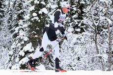 Gjøran Tefre underveis i 15-kilometeren i klassisk stil under Beitosprinten 2014. Foto: Erik Borg.