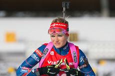 Gabriela Soukalova i forbindelse med verdenscupen i Hochfilzen 2014. Foto: Manzoni/NordicFocus.