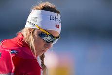 En sykdomsplaget Tiril Eckhoff ble beste norske på 23.-plass torsdag. Foto: Manzoni/NordicFocus.