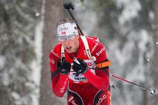Erlend Bjøntegaard under verdenscupen i Antholz 2014. Foto: Manzoni/NordicFocus.