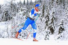 Emilie Kristoffersen ute på 10 km klassisk under Beitosprinten 2014. Foto: Erik Borg.