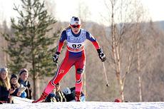 Ragnhild Haga under minitouren i verdenscupen på Lillehammer 2014 hvor hun levert flere topprestasjoner. Foto: Geir Nilsen/Langrenn.com.