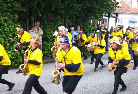 Sæby Danmark, juni 2013 - karneval