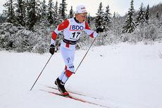 Anders Mølmen Høst ute på 15 km klassisk under sesongåpningen på Beitostølen, Beitosprinten 2014. Foto: Erik Borg.