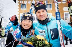 Masako Ishida og Øystein Pettersen, begge fra Team United Bakeries, stormet inn til hver sin seier i sesongens 4. renn av Swix Ski Classics, La Diagonela 2015. Foto: Magnus Östh/Swix Ski Classics.