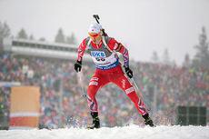 Henrik L`Abee-Lund i aksjon under verdenscupsprinten i Ruhpolding i midten av januar 2015. Foto: Manzoni/NordicFocus.