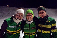 Topp 3 i Tour de Sweco 2015. Fra venstre: Trine Breen (2.-plass), Kristin Antonsen (1) og Marit Vala (3). Foto: NTNUI.