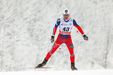 Hans Christer Holund er første nordmann ut fra start i Kuusamo lørdag. Her fra da han ble nummer 11 på 15 km fri under verdenscupen i Rybinsk 2015. Foto: Laiho/NordicFocus.
