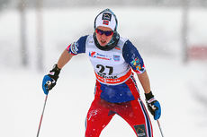 Silje Øyre Slind ute på 10 km fri under verdenscupen i Rybinsk 2015, der hun endte på 29.-plass. Foto: Laiho/NordicFocus.