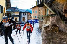 Fra folkefesten Marcialonga 2015. Foto: Magnus Östh/Swix Ski Classics.