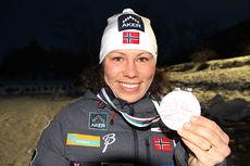 Mariann Vestbøstad Marthinsen med sin VM-medalje fra mesterskapet i 2015. Foto: Anne Ragnhild Kroken.