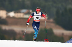 Oxana Usatova underveis på sjette etappe i Tour de Ski 2015. Foto: Felgenhauer/NordicFocus.