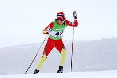 Heidi Weng på vei mot 3. plass på 10 km skøyting under Ski-NM på Røros 2015. Foto: Geir Nilsen/Langrenn.com.