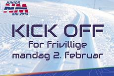 Frivillige inviteres til kick-off 2. februar.