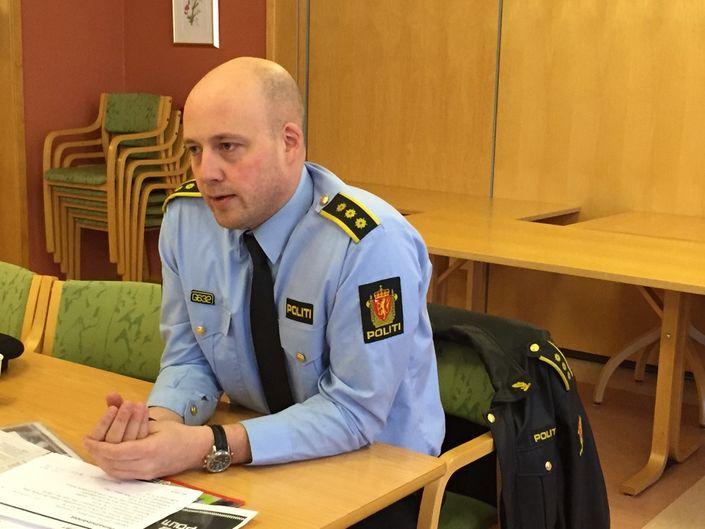 Robin Johnsen lensmann Fauske/ Indre Salten