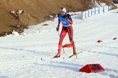 Silje Theodorsen ute i sprintprologen under Junior-VM i Almaty 2015. Lørdag går hun Reistadløpet i Bardu. Foto: Erik Borg.