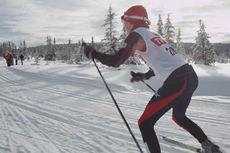 Skjermdump fra promofilmen for Hafjell Ski Marathon 2015.
