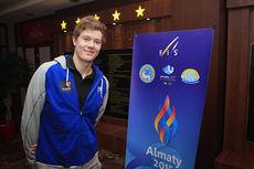 Ole Jørgen Bruvoll på plass i Almaty, Kasakhstan for Junior-VM 2015. Foto: Erik Borg.