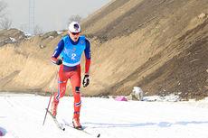 Eirik Sverdrup Augdal på vei mot 4. plass på 20 km skiathlon under junior-VM 2015 i Almaty og Kasakhstan. Foto: Erik Borg.