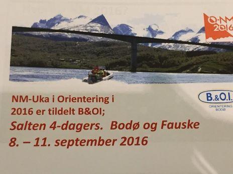 Orientering NM Bodø Fauske
