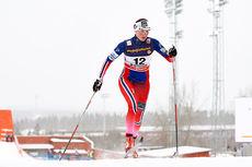 Kari Vikhagen Gjetines i sprintprologen under verdenscupen i Östersund 2015. Foto: Felgenhauer/NordicFocus.