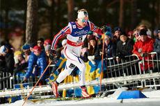 Eirik Brandsdal ute på VM-sprinten 2015 i Falun. Foto: NordicFocus.