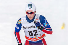 Didrik Tønseth er første nordmann ut fra startblokka. Foto: Rauschendorfer/NordicFocus.