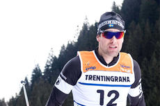 Jörgen Brink ute i løypene under Marcialonga 2015. Foto: Östh/NordicFocus.