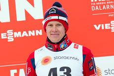 Anders Gløersen tok sin første VM-medalje med bronsen på 15 km fri under VM i Falun 2015. Foto: NordicFocus.