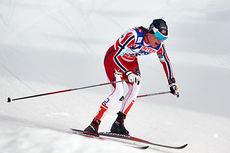 Heidi Weng ble nummer åtte på 30 kilometer klassisk under VM i Falun 2015. Foto: NordicFocus.