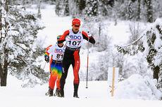 Andreas Nygaard under Beitosprintens 15 km klassisk 2014. Foto: Erik Borg.