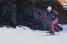Audun Erikstad toppet de eldste juniorguttas 20-kilometer i fri teknikk under Junior-NM Hommelvik 2015. Foto: Erik Borg.