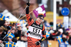 Petter Eliassen gikk i 2015-utgaven inn til seier i sin første start i Vasaloppet og han var den klart beste langløperen gjennom sist sesong. Nå er han blant de påmeldte til det 80 km lange Olaf Skoglunds Minneløp. Foto: Felgenhauer/NordicFocus.