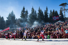 5-mila i Holmenkollen 2015. Foto: Laiho/NordicFocus.