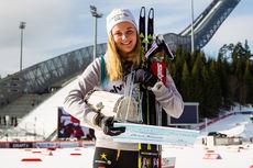 Stina Nilsson vant U23-cupen i verdenscupsesongen 2014/2015. Foto: Laiho/NordicFocus.