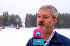 John Smits ved starten for FredagsBirken 2015 på Tingstadjordet i Rena. Foto: Roy Myrland/Langsveien.no.